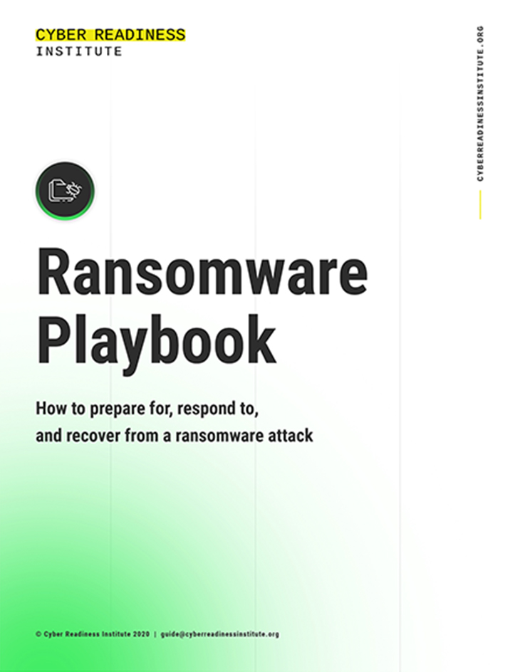 CRI Ransomware Playbook Cover